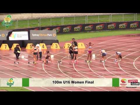 Australian Junior Athletics Championships Sunday Afternoon Stream 2014