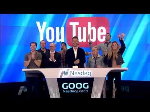 YouTube rings the Nasdaq Closing Bell