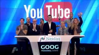 YouTube rings the Nasdaq Closing Bell