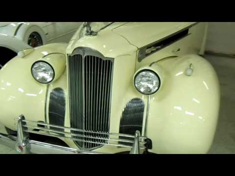 1940 Packard 120 Roadster Convertible - Rare Classic Automobile
