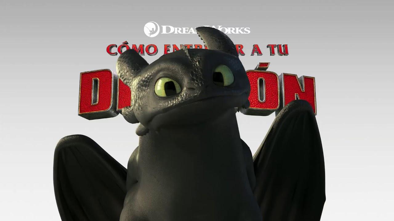 Cómo Entrenar A Tu Dragón 3 Chimuelo Youtube
