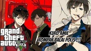 GTA 5 Malaysia = ROMPAK BALAI POLIS  !!