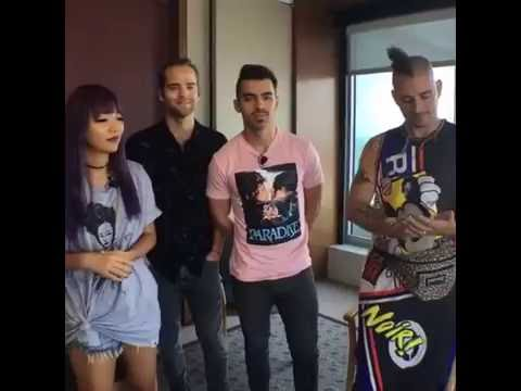 DNCE Rolling Stone Interview (August 25, 2016)