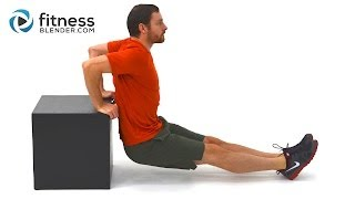 upper body strength training and core workout abs and upper body supersets