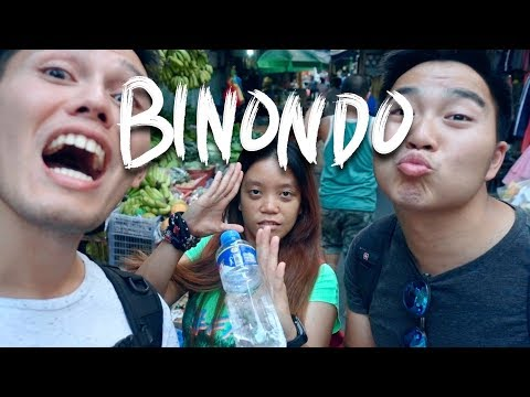 Exploring BINONDO Manila - World's Oldest Chinatown (PHILIPPINES)
