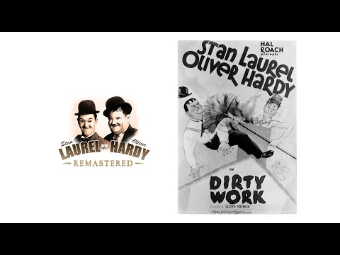 Download Laurel and Hardy - Dirty Work (1933) REMASTERED in 4K