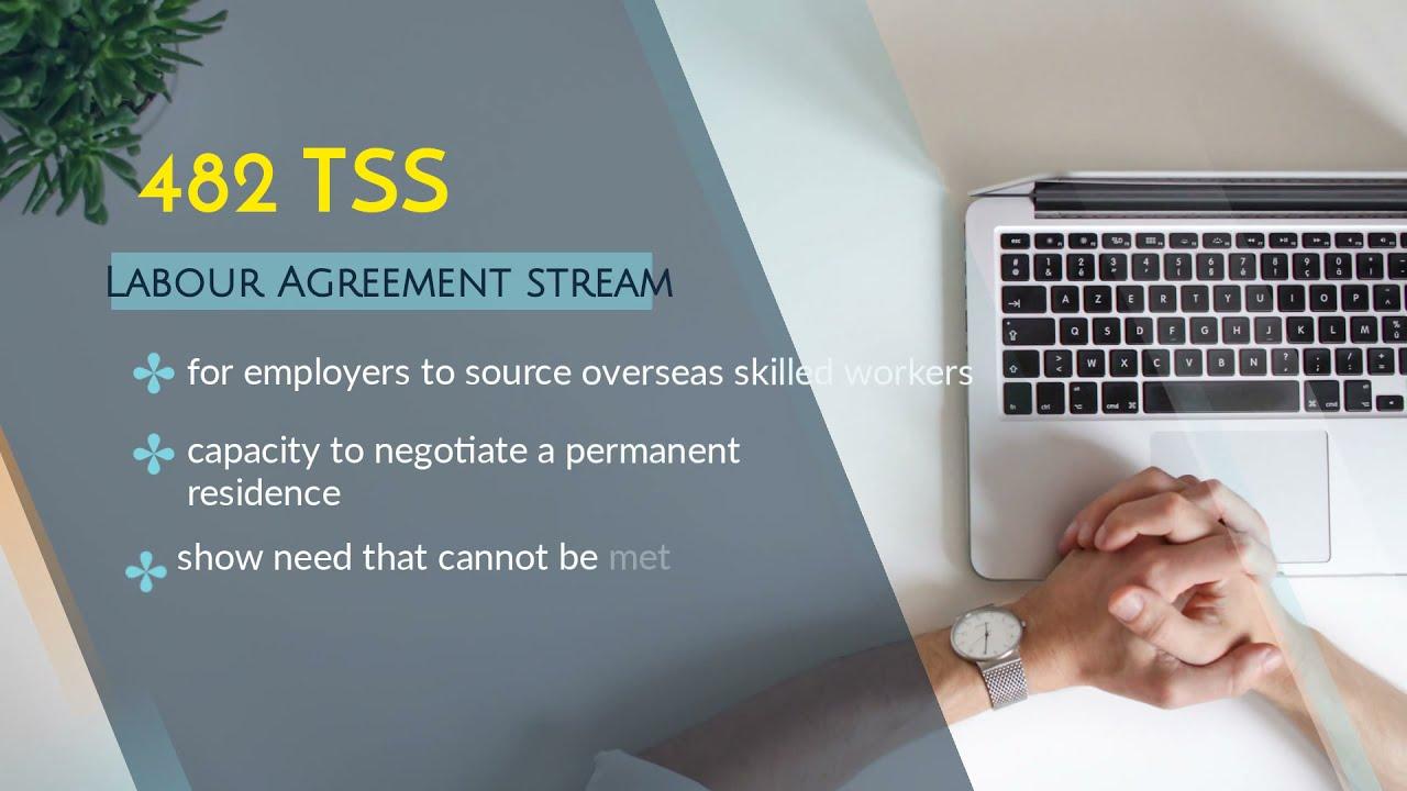 TSS Visa (Temporary Skill Shortage Visa)-482 Visa - Australian