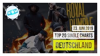 TOP 20 SINGLE CHARTS ♫ 23. JUNI 2019