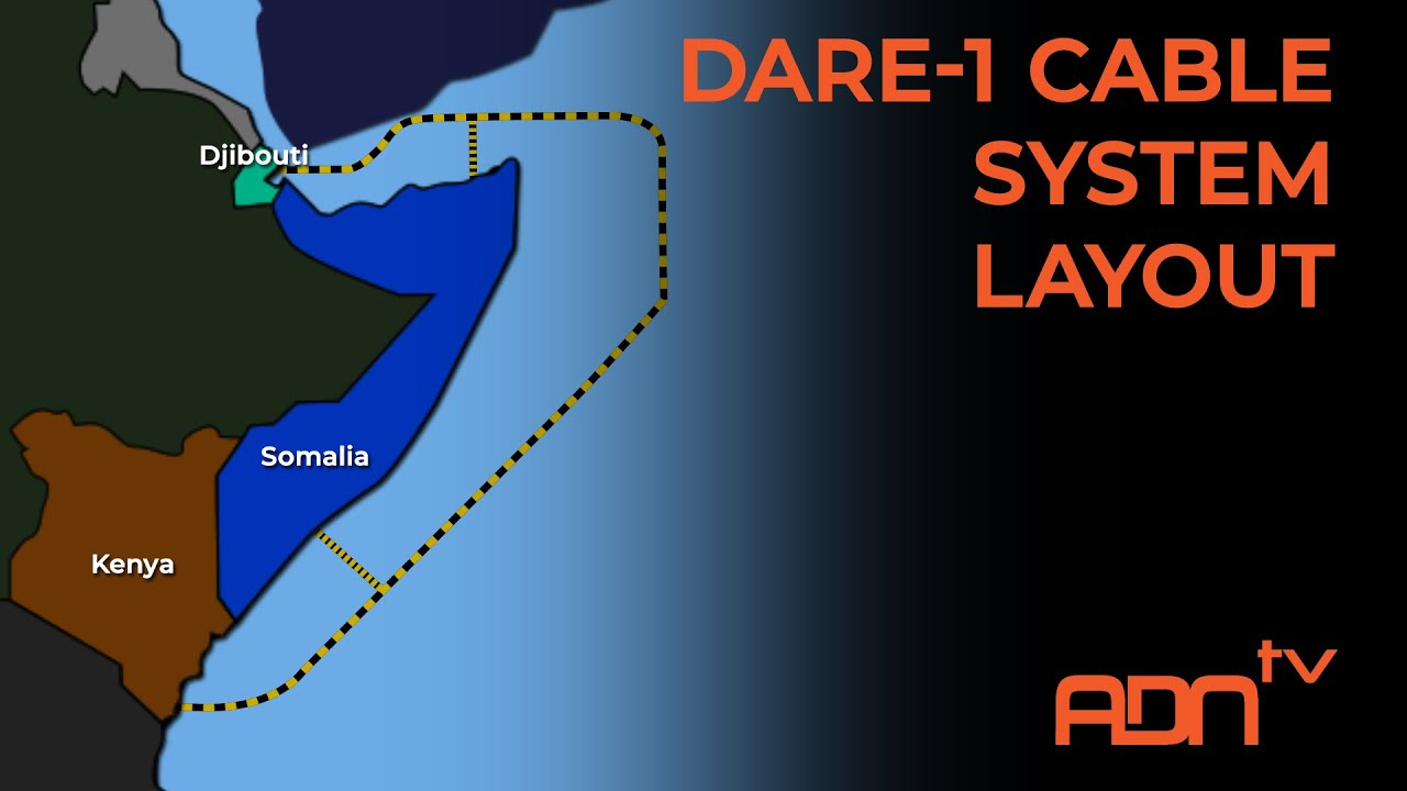 EAST AFRICA DARE-1 INTERNET CABLE - YouTube