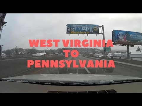 Timelapse from Wheeling, WV to Pittsburgh, PA