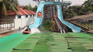Nandan Water Coaster | Big Water Roller Coaster in Nandan Park | Coaster Tower Water Slide