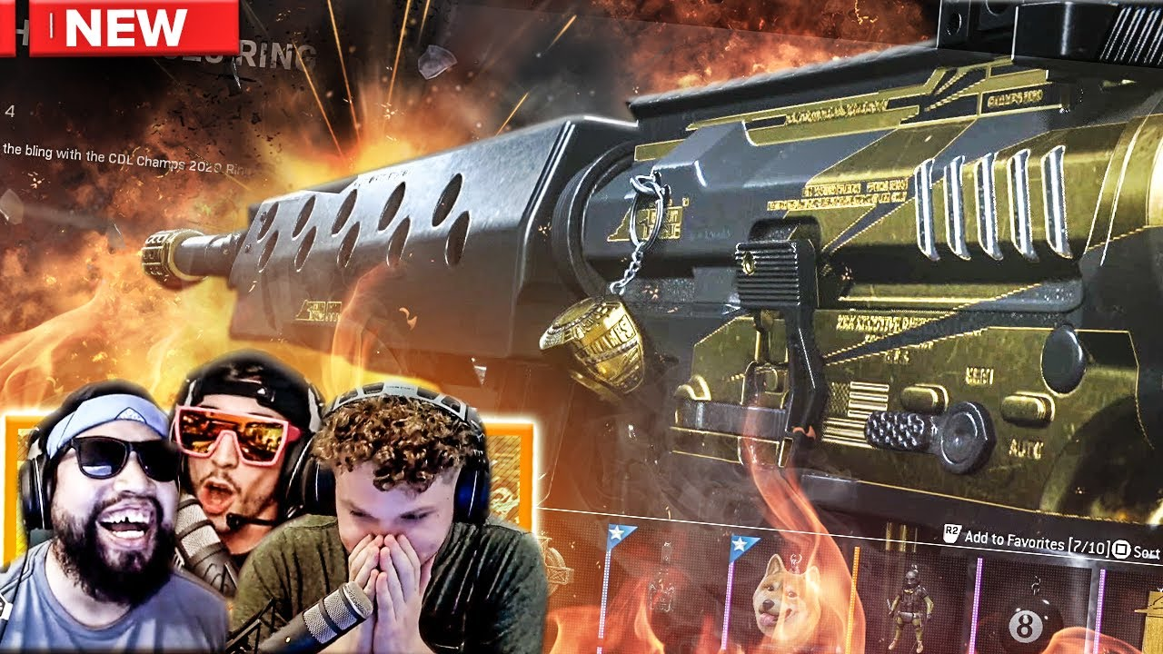 The *NEW* CDL CHAMPS 2020 SKINS!! *EARLY ACCESS* - Modern Warfare