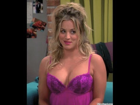 THE VERY BREAST OF PENNY BIG BANG THEORY - HARD NIPPLES & CLEAVAGE - SEXY