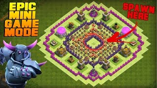 Clash of Clans | TH7 Mini Game Base | The Core | Epic Game Mode + Funny Fails [Friendly Battle 2016]