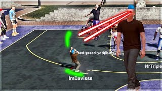 CAN THE WORLDS SMALLEST PURE SHARPSHOOTER DOMINATE VS PARK PLAYERS IN NBA 2K19