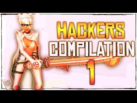 Fortnite Battle Royale Hackers Compilation Episode. 1