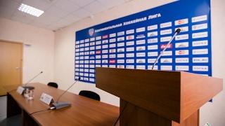 """Пресс-конференция """"Салават Юлаев"""" - """"Лада"""""""