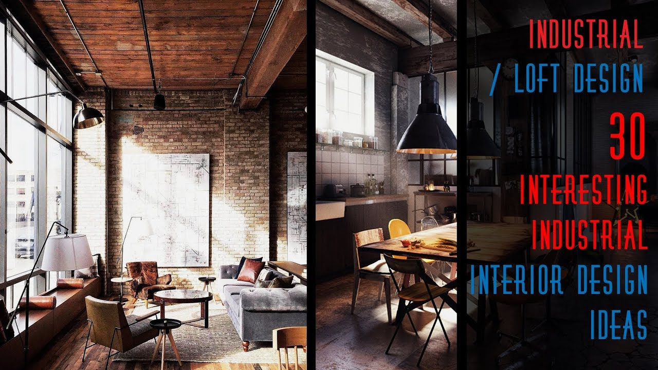 30 Interesting Industrial Interior Design Ideas