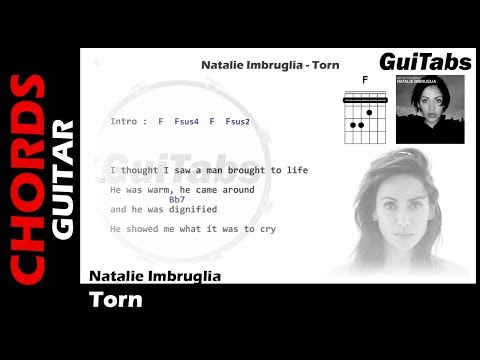 Natalie Imbruglia - Torn ( Lyrics and GuiTar Chords ) 🎸