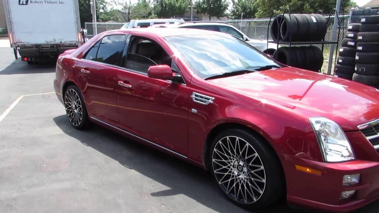 2010 Cadillac Riding On Custom 20 Inch Lexani Css 16 Rims Black