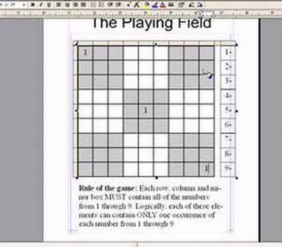 Beginning Sudoku Secret