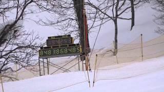 佐藤詩織選手の第11回全日本スノーボード技術選手権大会のムービーです!