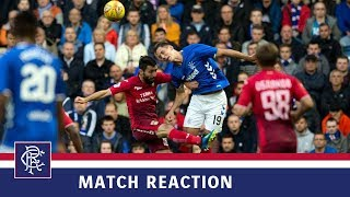 REACTION | Nikola Katic | Rangers 1-0 UFA