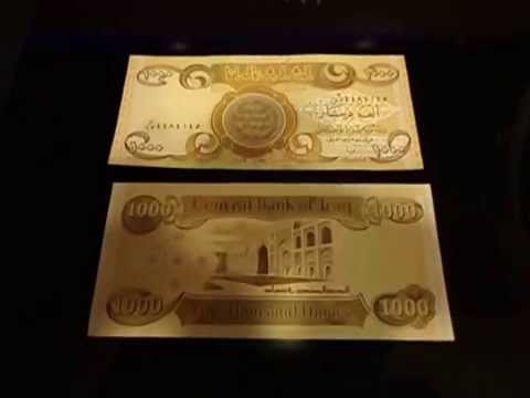 How to authenticate a 1,000 Iraqi Dinar Note at home?