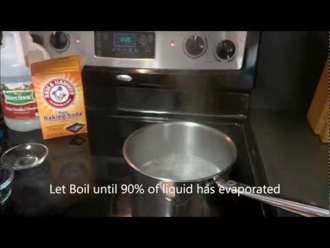 Homemade Sodium Acetate Heat Pad HOT ICE