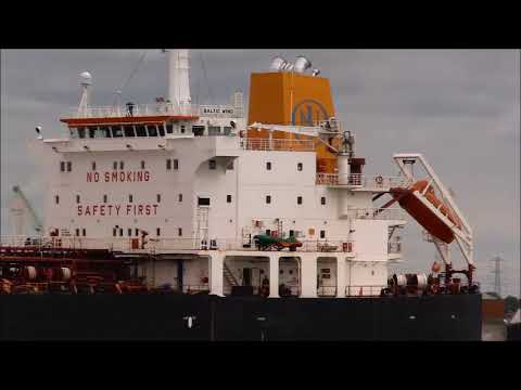 BALTIC WIND Tanker ...Thames Shipping by R.A.S. 2019