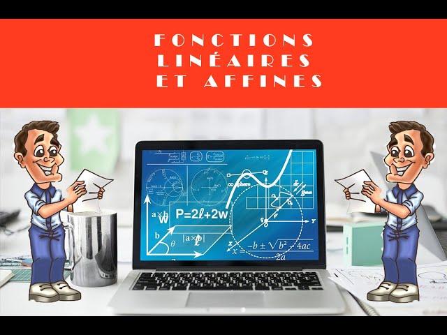 Fonctions linéaires et affines - Problème de maths.