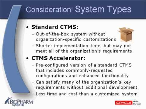 What Is A Clinical Trial Management System Ctms Youtube