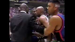 Charles Barkley vs Charles Oakley Fight