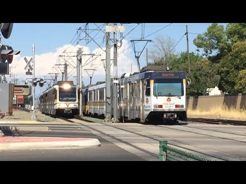 Sacramento Light Rail Trains Month Of July 2017