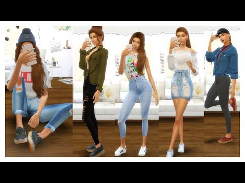 The Sims 4 | Outfits Of The Week | OUTFIT IDEAS 2017 + Download links