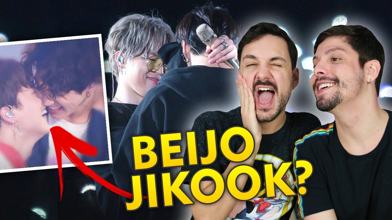 REAGINDO A JIKOOK MOMENTS 2019 + SORTEIO BTS! [ENG SUB]