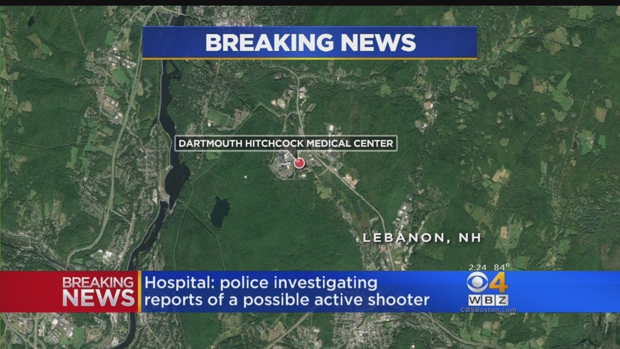 Potential Active Shooter Reported At N.H. Hospital - YouTube on