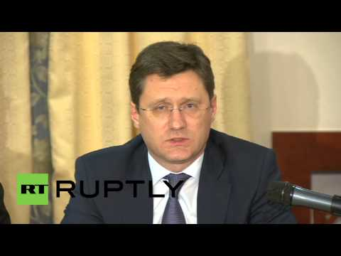 Russia: 'US shale industry behind oil price plunge' - Novak