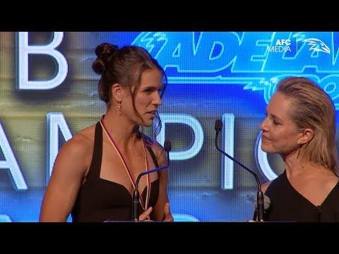 Chelsea Randall: Players' Player Speech