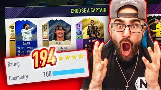 yES 194 DRAFT! INSANE HIGHEST RATED! FIFA 18 Ultimate Team