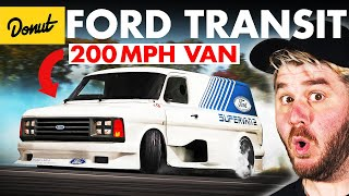 FORD TRANSIT: The Van That Runs The World | Up To Speed
