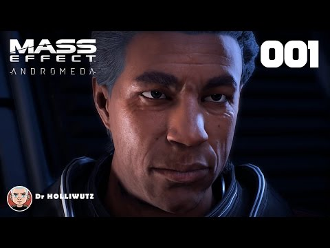 Mass Effect: Andromeda #001 - Arche Hyperion Heleus Cluster [PS4] Let's play Mass Effect