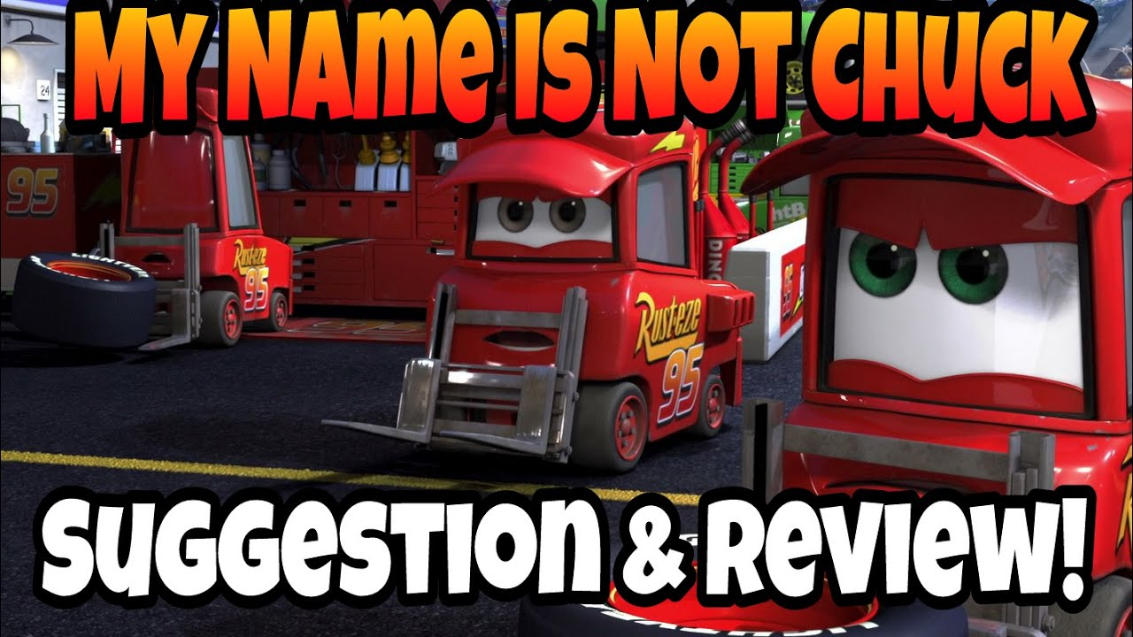 disney pixar cars diecast review my name is not chuck rh youtube com  what is my name card verizon