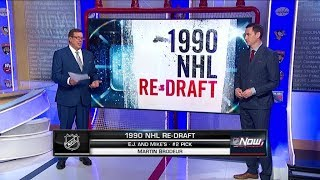 NHL Now:  1990 NHL Draft:  Re - Drafting the top 5 players from the 1990 NHL Draft  Jun 18,  2019