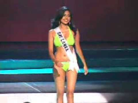Sri Lanka Miss Universe 2008  Swimsuit
