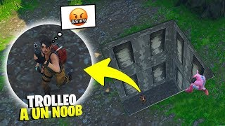 I LEAVE A NOOB IN THE SECRET BUNKER-😂😂 - Moments amusants à Fortnite