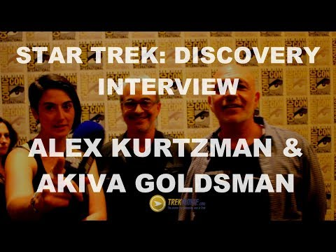 Thumbnail: Exclusive Interview with Star Trek: Discovery's Alex Kurtzman and Akiva Goldsman - SDCC 217 HD