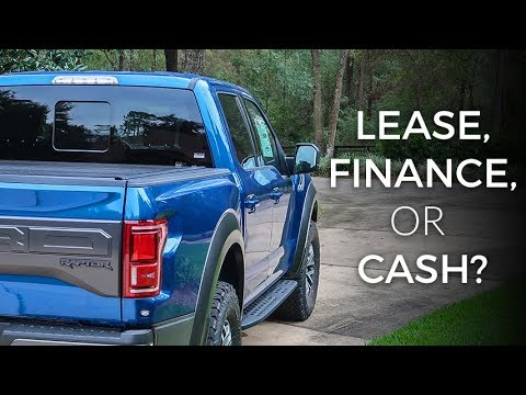 Ford Raptor Lease >> Raptor First Drive Discussing Financing Leasing Cash Purchase