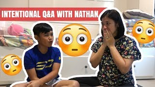 Q&A With my Pre-teen Nathan! (finding out what's in his heart and mind) | Camille Prats