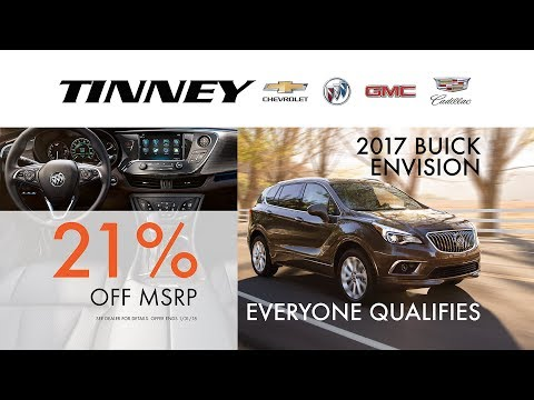 Buick Envision Rebates and Incentives for Everyone   Tinney Automotive
